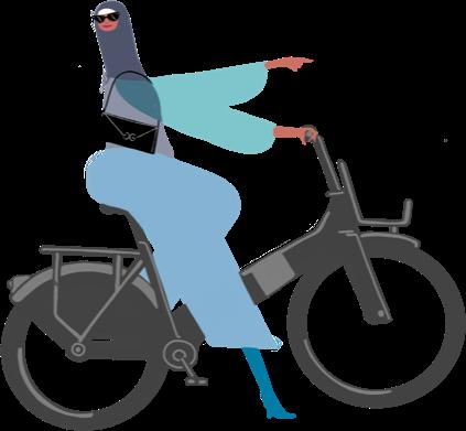 women-cycling
